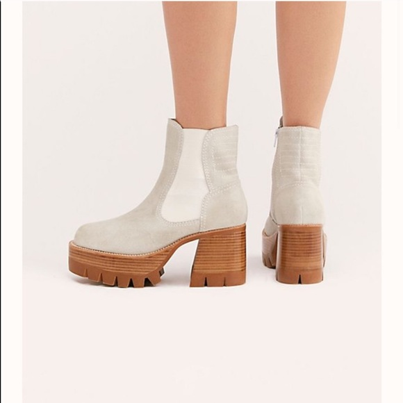 Iso Preston Platform Ankle Boot